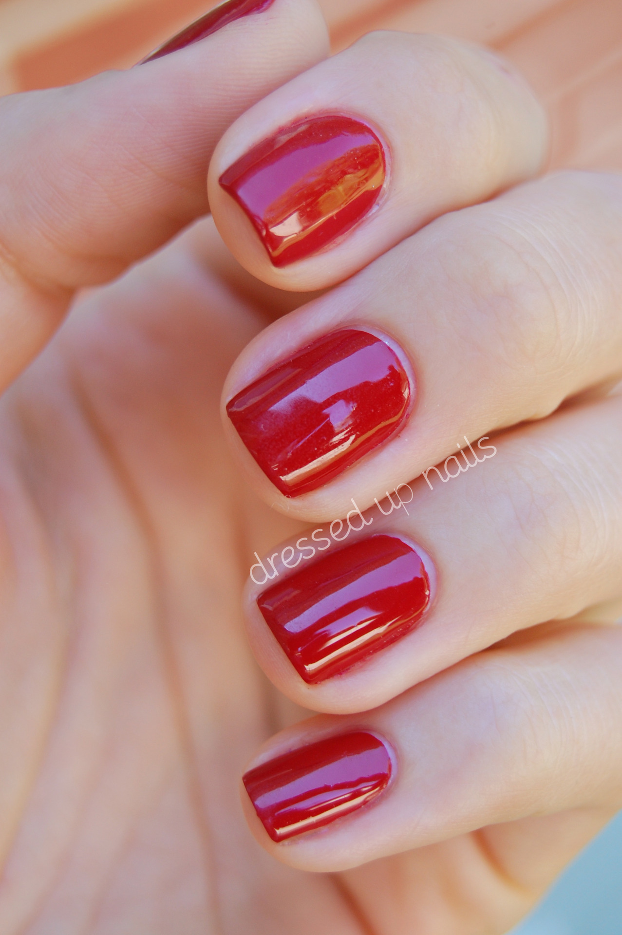 China Glaze // Adventure Red-y