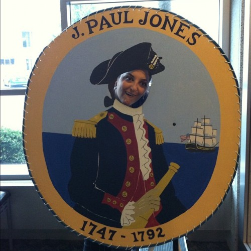 @photocop13 as John Paul Jones. (Taken with Instagram)