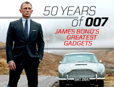 For his 23rd movie, Skyfall, we gathered our 23 most memorable Bond gadgets.Plus! 10 Best Bond Villain Gadgets.