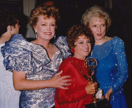 furiousk:  The fabulous Golden Girls on Emmy night.