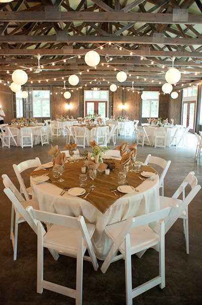 Gorgeous reception idea! Priscila P.