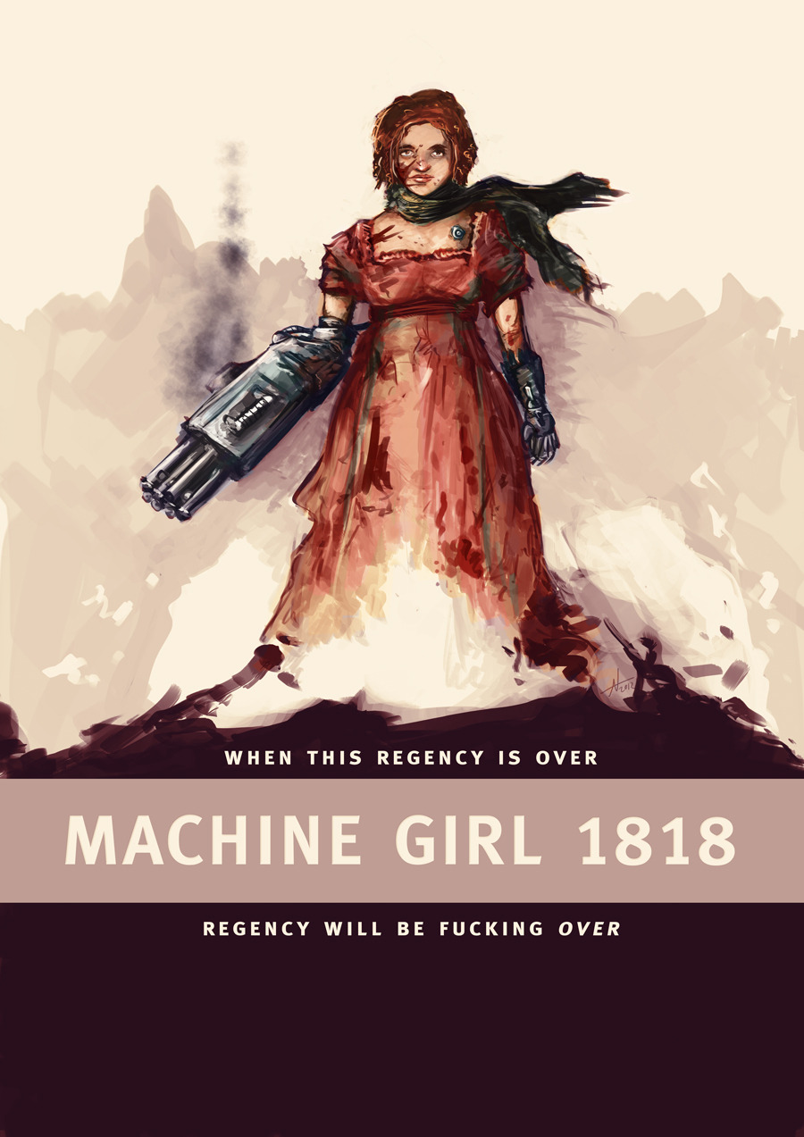 Machine Girl 1818.
