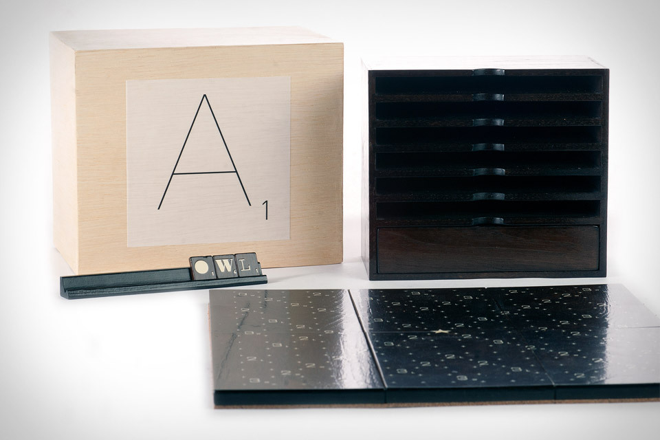 Scrabble Typography Edition (via uncrate)