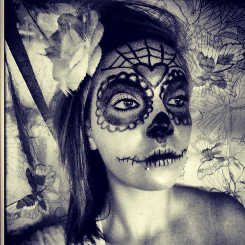 #DiaDeLosMuertos #makeup #arty #girl