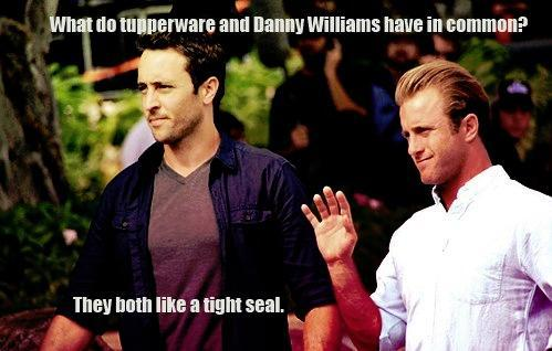 carolinelovesmcgarrett:  Funniest McDanno joke I've read for a while! :D……. Gotta love it!   Mc
