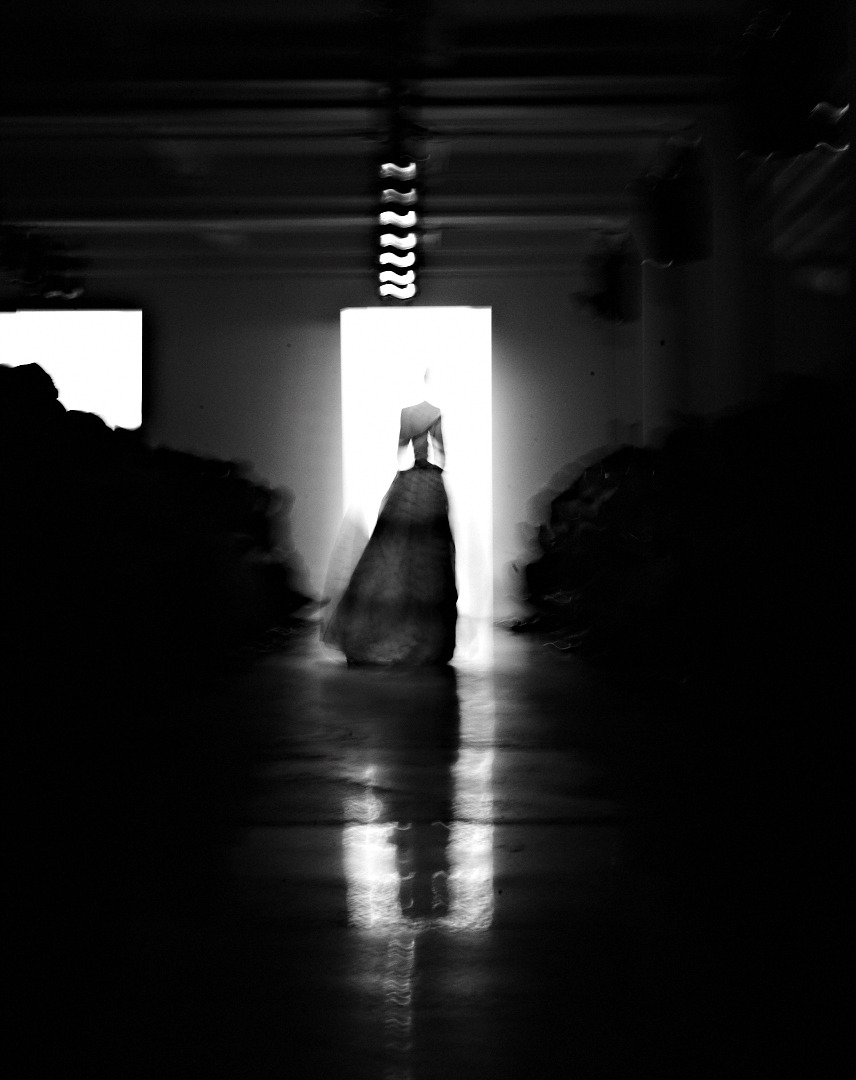 Dark Exit. Another hauntingly beautiful photo from Jessie Adler's fashion week flash back.