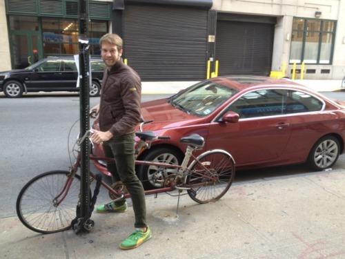 I think I just jizzed my pants. Colby Keller + biking = HUGE BONER Can I ride on your…bike? :) Fuck Yeah Colby Keller!  Tumblr Twitter #colby keller#scruffy#bikes#biker#cyclist#beard