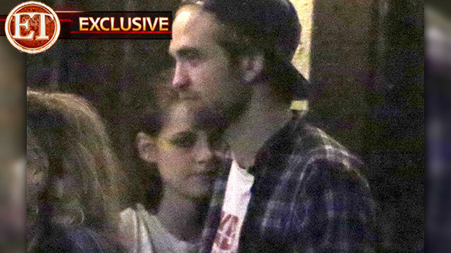 Robert Pattinson and Kristen Stewart snapped together for the first time since reconciling last month. Entertainment Tonight has the exclusive pictures and video of the couple enjoying their Sunday night (October 14) out at the Los Feliz bar, Ye Rustic Inn.  Tune in to ET tonight to see more from their outing.  Are you glad to see Rob and Kristen back together?