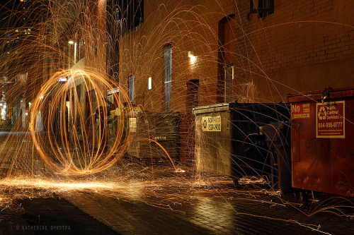 Photo of the Day: Orb in Blood Alley By Katherine Dykstra.