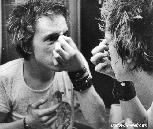 updownsmilefrown:  Johnny Rotten
