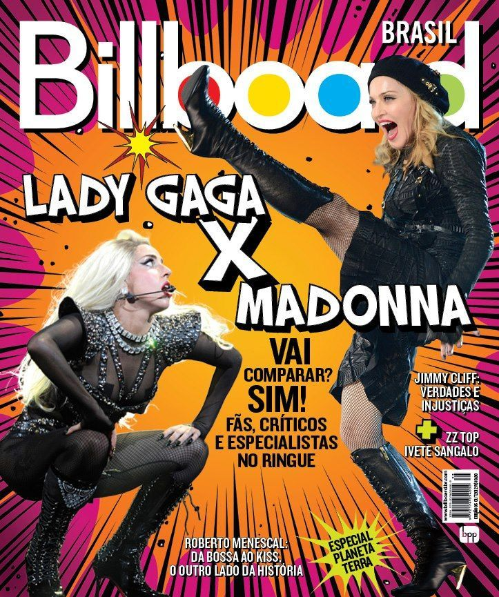 New Billboard Brazil cover.