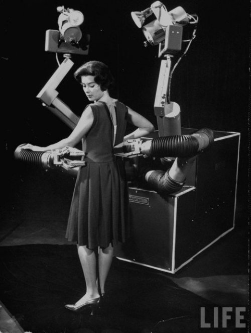 """Mobot the Magnificent Mobile Robot"" from Life magazine."