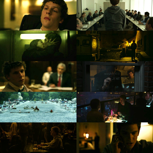 Cinematography | The Social Network (2010) requested by pooinanalleyway