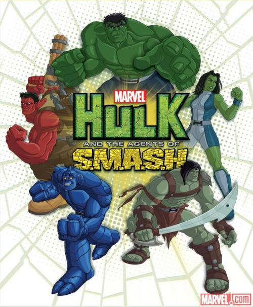 hulk and the agents of smash! sure this might end up being the rescue bots version of avengers assemble… but i'm quite fine with that!!