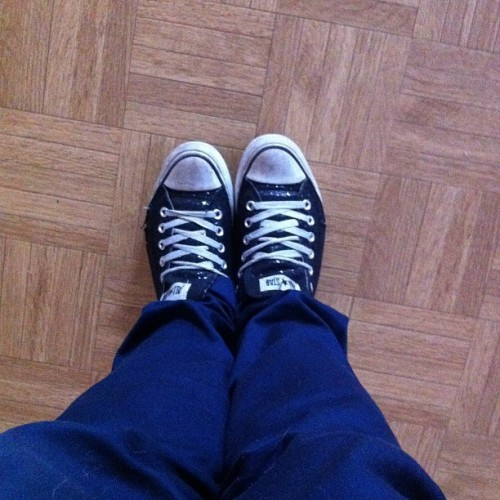 Pulled a Johnny Knoxville today ;3 #Converse #NavyBluePants #JohnnyKnoxville #Fashion  (Taken with Instagram)