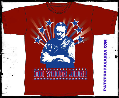 New Red Do Your Job tees are in!! Order one over in the right hand column!!