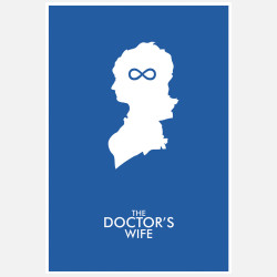 Doctor Who Doc's Wife, 23% off now featured on Fab.Fab.comFilms get all the buzz—the red carpet, trailers, and the like. Part of graphic artist Christian Petersen's series of works inspired by the popular British sci-fi television program, this poster focuses the spotlight on the humble small screen. Named after a specific episode, it's sure to strike a chord for diehard fans of the series.