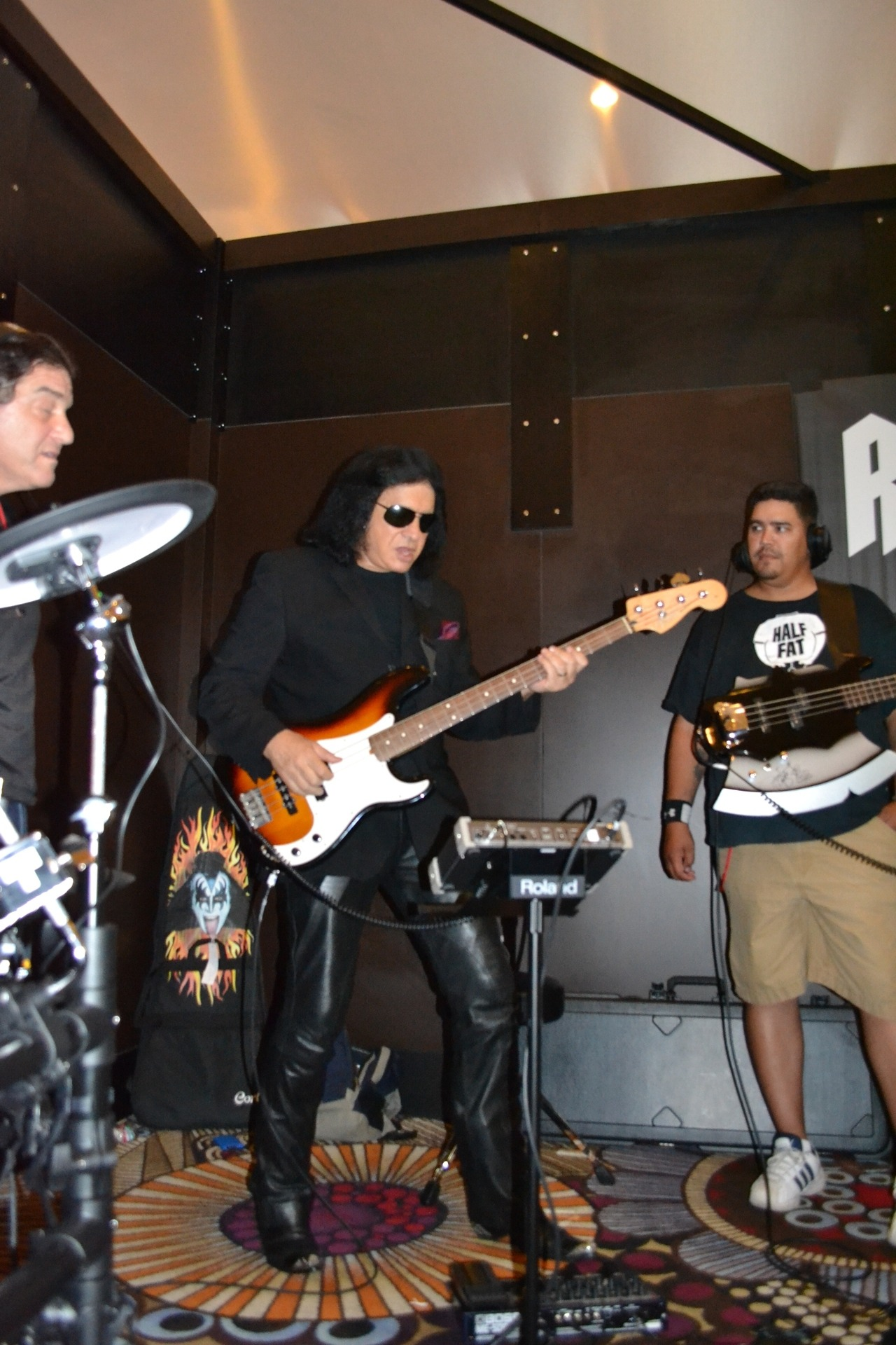 Want to jam with your fave rock star? A fan rocked out with Gene Simmons at our Rock N Roll Fantasy Camp this weekend! Find out how to get your once in a lifetime experience with your favorite rock icon here.