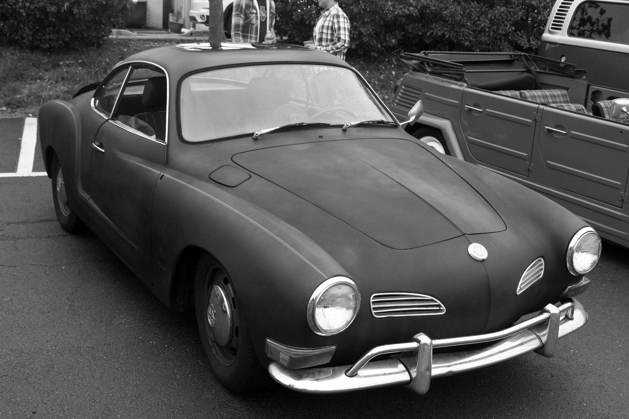 The Volkswagen Karmann Ghia