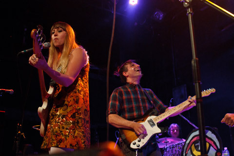 Tilly & The Wall played Bowery Ballroom on Saturday, and a good time was had by all. Brooklyn Vegan documented it in these glorious photos. Click through for more!