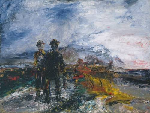 Jack Butler Yeats, 1942, The Two Travellers