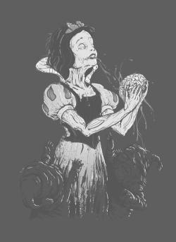 drawing death art horror gore morbid Macabre zombie