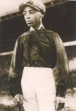 "Alonzo ""Lonnie"" Clayton (US). Active years: 1890s. Was then youngest jockey to ever win the Kentucky Derby aboard Azra in 1892. Lonnie also won two Kentucky Oaks in 1894 and 1895, as well as numerous stakes races in New York, including the prestigious Travers Stakes at Saratoga."