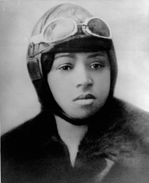 On October 15, 1922, more than 2,000 gathered to see Bessie Coleman, an African-American woman and pilot, give an exhibition in Chicago. Portrait of Bessie Coleman, pilot. Date unknown. Photographer unknown. Want a copy of this photo?  > Visit our Rights and Reproductions Department and give them this number: ICHi-26774 Connect with the Museum