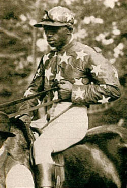 Tony Hamilton (US). Years active: 1880s-90s. Won the Futurity Stakes aboard Potomac in 1890, as well two Brooklyn Handicaps in 1889 and 1895.