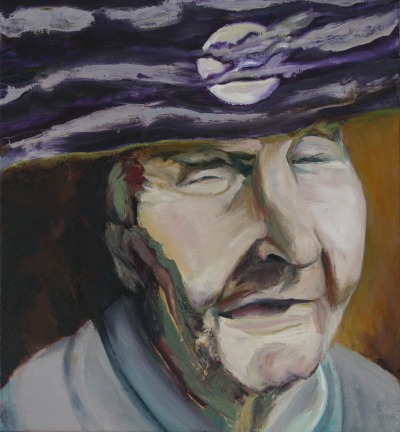 The Blind Man Oil on Linen