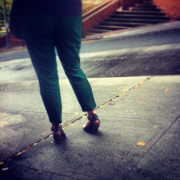 Heels on Marion (Taken with Instagram)