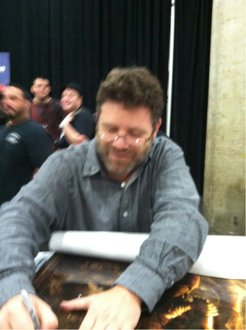 the-shire-rose:  So I met Sean Astin yesterday at NYCC. Best day of my life. EVER.