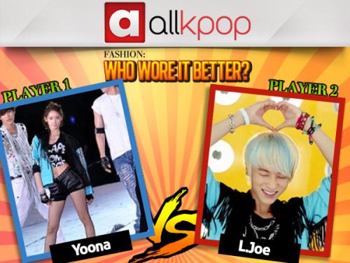 Who Wore it Better: Teen Top's L.Joe vs. Girls' Generation's YoonA Get over to allkpop, vote, and let us know—who wore it better?