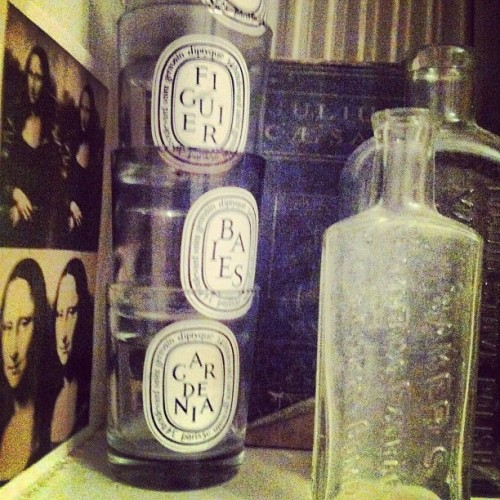 Stack em. #diptyque (Taken with Instagram)