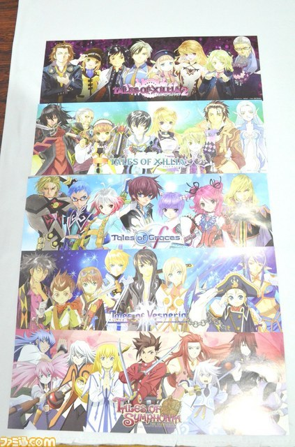 talesofmerchandise:  Tales of Series Mini Posters from Namja Town