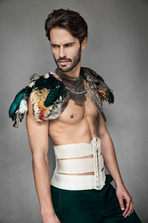 eccentricdandy:  afreeboy:  Tiago Severo by Brice Hardelin  Living for this