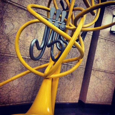 Trumpet sculpture midtown  #NYC #art #music (Taken with Instagram)