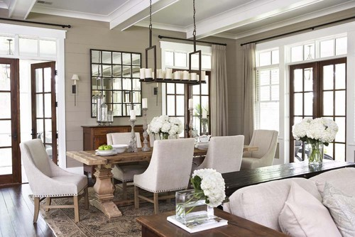Dining room - love the chairs