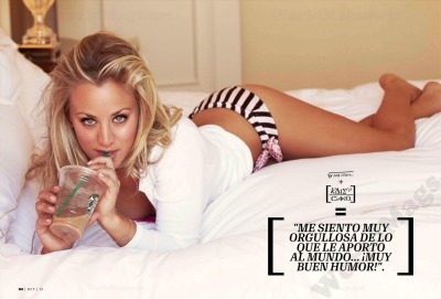 fuckyeahhotactress:  Kaley Cuoco for Esquire Mexico - October 2012