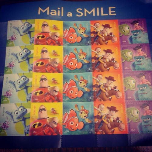The stamps i got so i can write to Albert! <3 i hope he likes them, i know i sure do! :) #character #stamps #cute #letter #boyfriend #happy (Taken with Instagram)