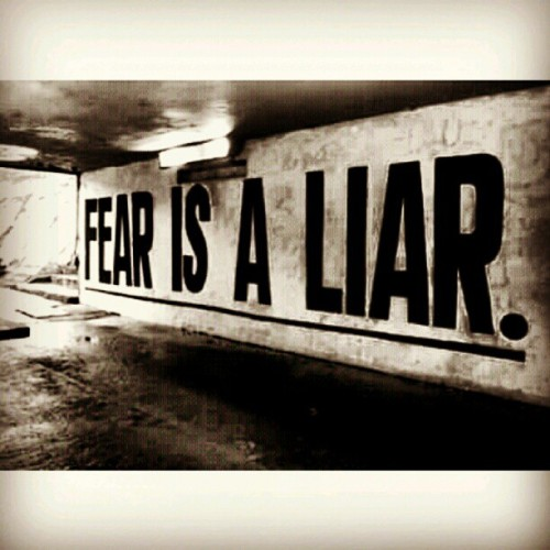 #Truth You should NEVER let fear stop you from reaching YOUR personal greatness or whatever success means to you! The sky is NOT the limit, its just the VIEW… the only limits we have are the ones we place on ourselves!!! (Taken with Instagram)