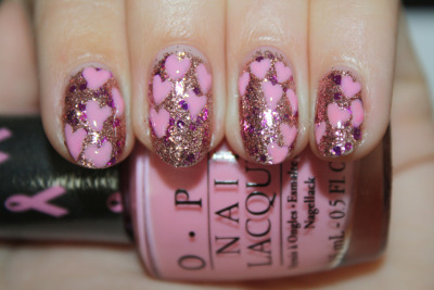 polishyoupretty:  New Post: click the photo to see the full swatch review + tutorial of OPI's Pink of Hearts 2012 from PYP!