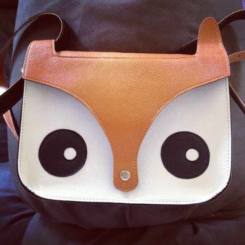 My new 'foxy' handbag. (Taken with Instagram)