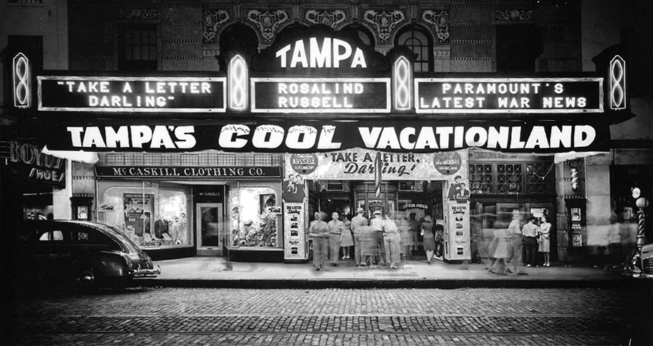 Happy 86th birthday, Tampa Theatre