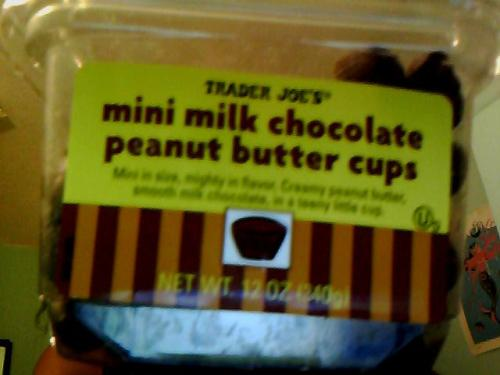 FUCK WHAT YOU HEARD, SON. TRADER JOE'S MINI PEANUT BUTTER CUPS ARE THE BUSINESS.
