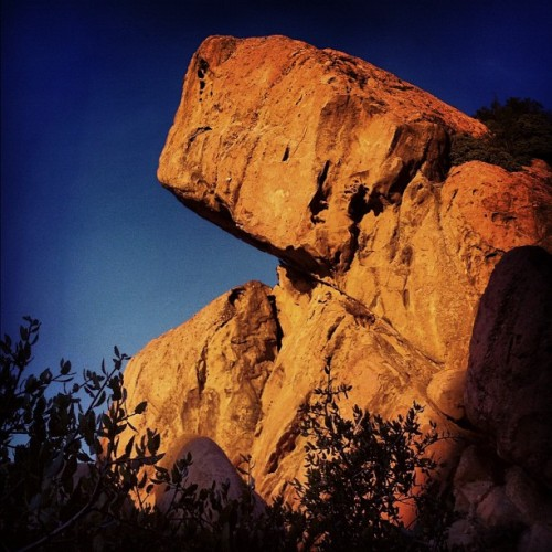 Rock formations at the slabs #climbing #eddyizm #iphone  #santamonicamountains  (Taken with Instagram)