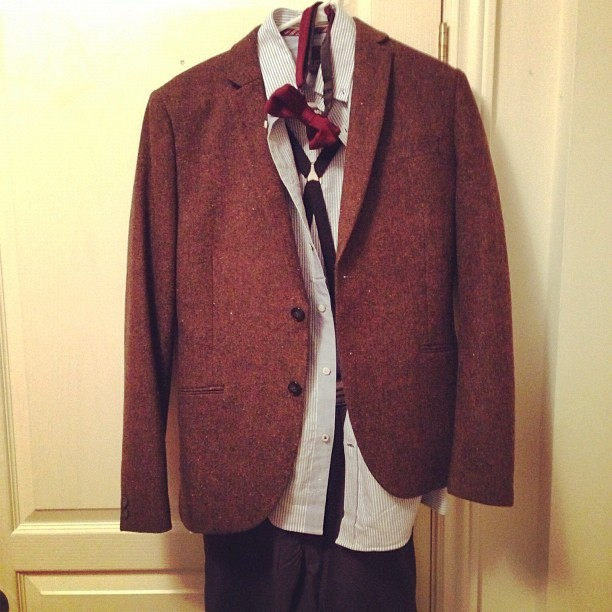 Halloween costume is officially done. #excited #doctorwho (Taken with Instagram)