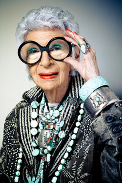 Iris Apfel by Franco Vogt.