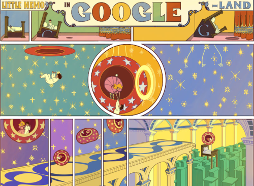 On honoring Winsor McCay. Curiously captivating #Google.