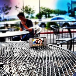 📱⌚👫 @alazyswan  (Taken with Instagram at The Madhouse Coffee Gourmet Bakery and Sandwiches)